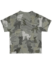 Chinese Crested Hairless-camouflage All-over T-Shirt back