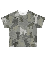 Chinese Crested Hairless-camouflage All-over T-Shirt front