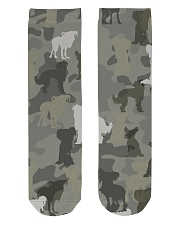 Chinese Crested Hairless-camouflage Crew Length Socks thumbnail