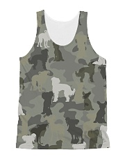 Chinese Crested Hairless-camouflage All-over Unisex Tank thumbnail