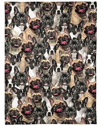 French Bulldog Full Face