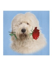 Old English Sheepdog Rose FM Cloth face mask aos-face-mask-coverlet-lifestyle-front-02