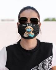 Cockapoo Handwashing Ew People Cloth face mask aos-face-mask-lifestyle-02