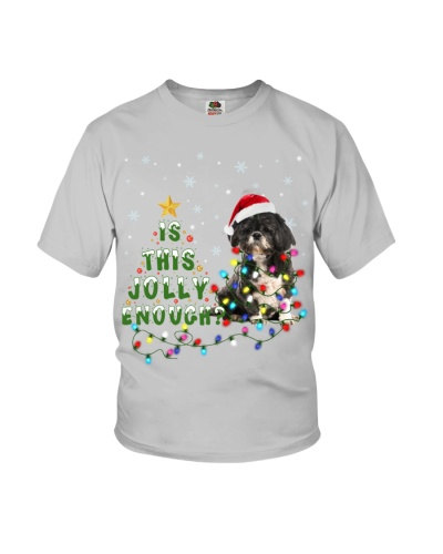 Black and White Shih Tzu-Is This Jolly Enough