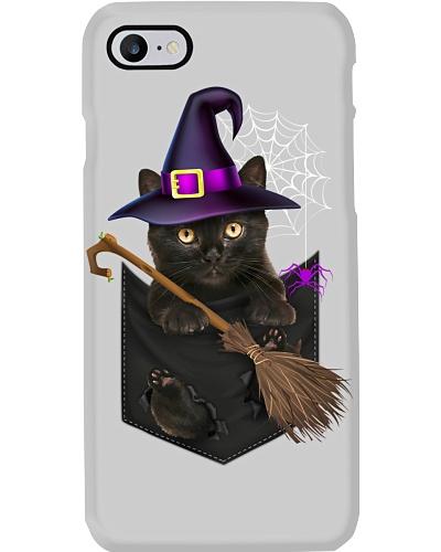 Cat - Pocket - Halloween