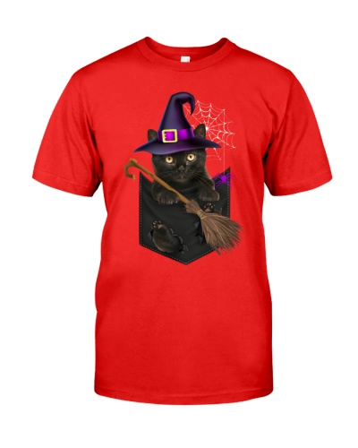 Cat - Pocket - Halloween