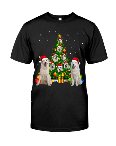 Great Pyrenees-Christmas Tree