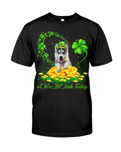 Husky-A Wee Bit Irish Today