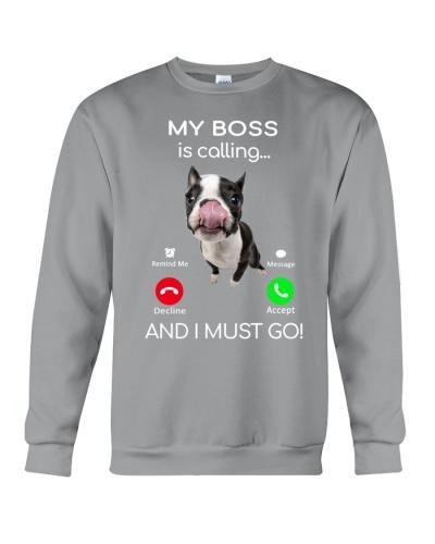 Boston Terrier-Calling