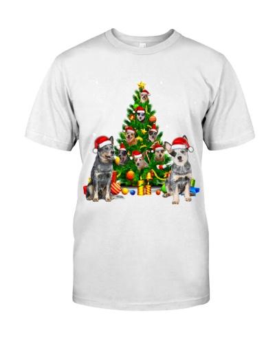 Australian Cattle Dogs-Christmas Tree