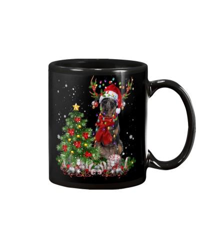 Beauceron-Reindeer-Christmas