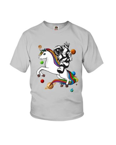 Astronaut Riding Unicorn