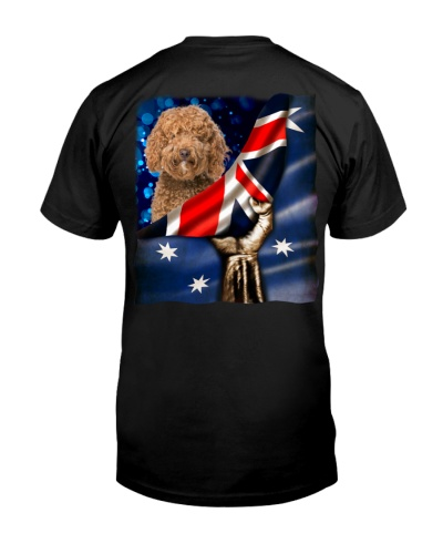 Flag of Australia-Labradoodle