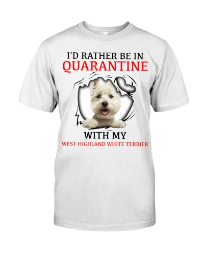 Quarantine With My West Highland White Terrier