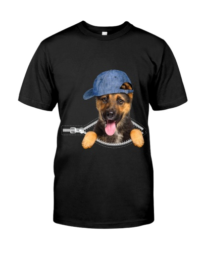 German Shepherd-Hat-Zipper