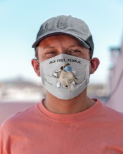 Pug Six Feet People FM Cloth face mask aos-face-mask-lifestyle-06
