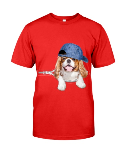 Cavalier King Charles Spaniel-Hat-Zipper