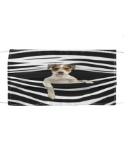 Parson Russell Terrier Stripes FM Cloth face mask front