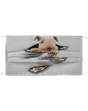 Lakeland Terrier-Scratch1-FM Cloth face mask front