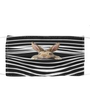 Rabbit Stripes FM Cloth face mask front