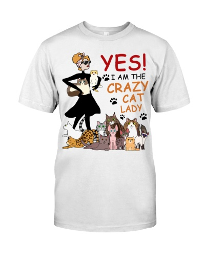 I Am The Crazy Cat Lady