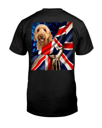Goldendoodle-The Union Jack