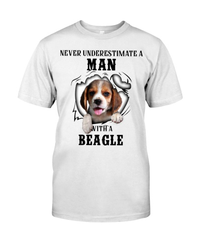Man With A Beagle