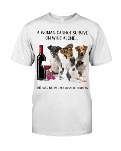 She Also Needs Jack Russell Terrier