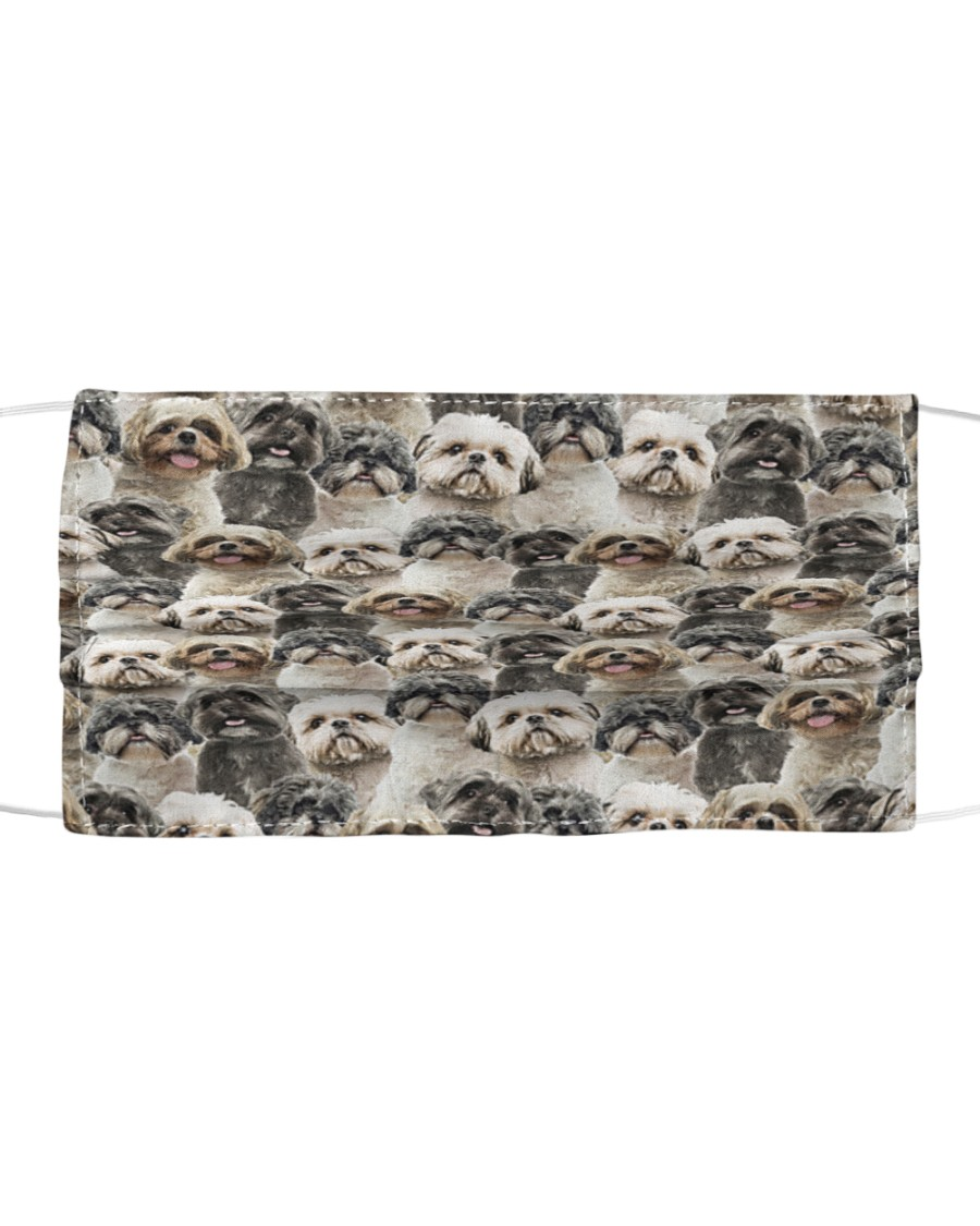 Shih Tzu FM Face Cloth face mask