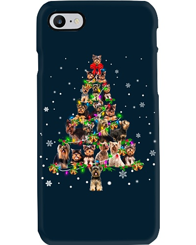 Yorkshire Terrier - Christmas Tree