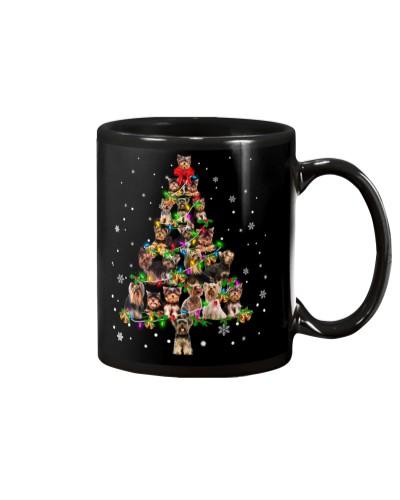Yorkshire Terrier - Christmas Tree