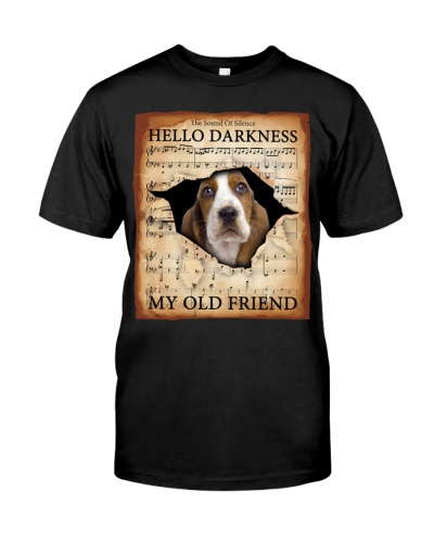 Basset Hound Hello Darkness