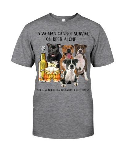 She Also Needs Staffordshire Bull Terrier-Beer