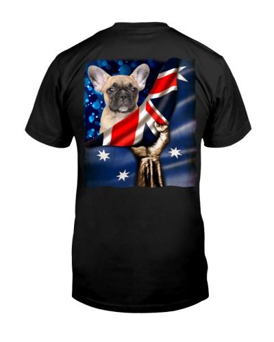 Flag of Australia-French Bulldog