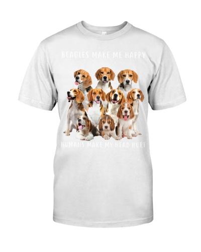 Beagle Make Me Happy