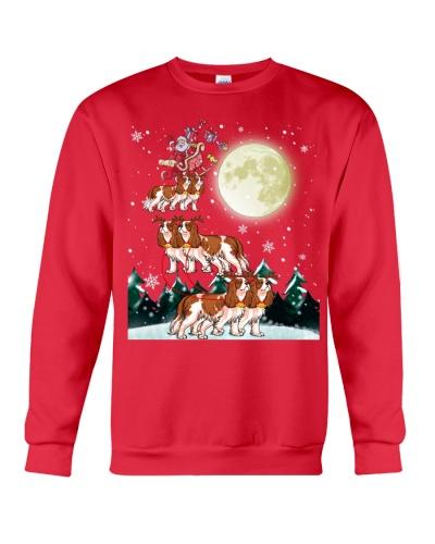 Cavalier King Charles Spaniel-Santa Claus