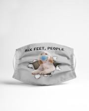Cockapoo Six Feet People FM Cloth face mask aos-face-mask-lifestyle-22