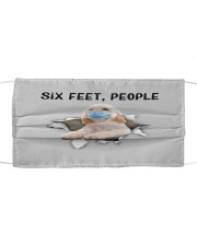 Cockapoo Six Feet People FM Cloth face mask front