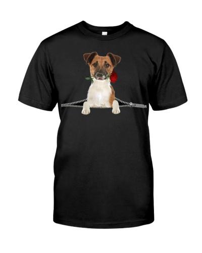 Smooth Fox Terrier-Rose-Zipper