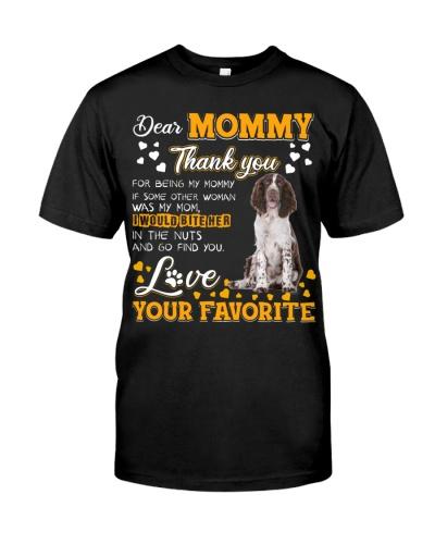 Dear Mommy-English Springer Spaniel 2