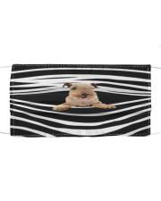 Lakeland Terrier Stripes FM Cloth face mask front