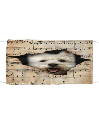 West Highland White Terrier 1 Hello Darkness Face