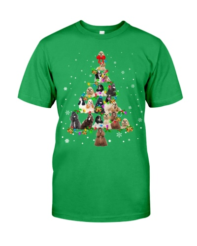 American Cocker Spaniel - Christmas Tree