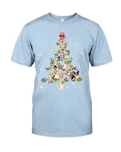 Welsh Corgi - Christmas Tree