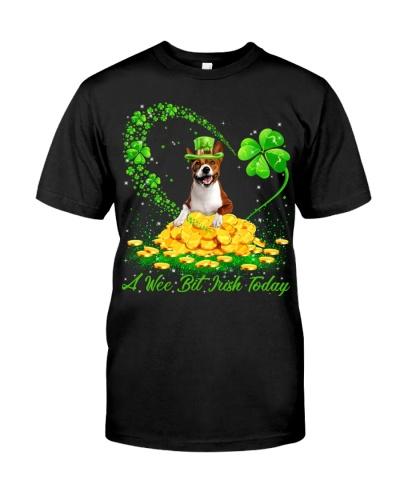 Basenji-A Wee Bit Irish Today