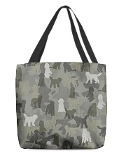 Labradoodle-camouflage All-over Tote thumbnail
