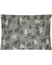 """Labradoodle-camouflage Wall Tapestry - 36"""" x 26"""" thumbnail"""