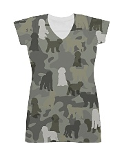 Labradoodle-camouflage All-over Dress thumbnail
