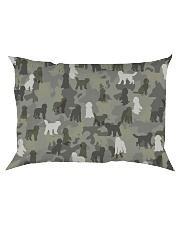 Labradoodle-camouflage Rectangular Pillowcase thumbnail
