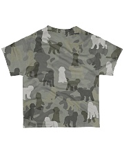 Labradoodle-camouflage All-over T-Shirt back